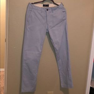 Just adorable chino pants skinny  light blue
